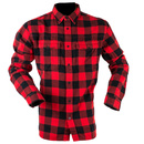Classic Checked Shirt RED/Black 2XL