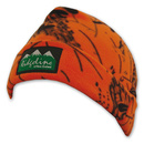Fleece Beanie (2 Lagen) - blaze orange